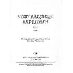 Jaskon, Günter: Nostalgische Capriolen : für Gesang und Combo Direktion und Stimmen