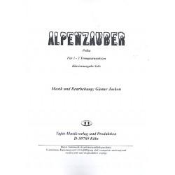 Jaskon, G├╝nter: Alpenzauber : f├╝r 1-3 Trompeten und Klavier