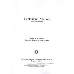 Mozart, Wolfgang Amadeus: T├╝rkischer Marsch : f├╝r Klavier (B-Instrumente) und Salonorchester Klavier (Keyboard)