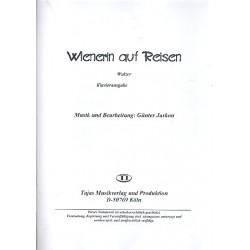 Jaskon, Günter: Wienerin auf Reisen: für Combo Klavier