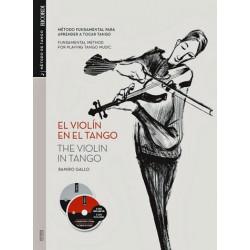 Gallo, Ramiro: El violín en el Tango (+2 CD's) (en/sp)