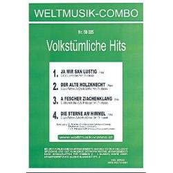 4 Volkstümliche Hits : für Combo Direktion und Stimmen