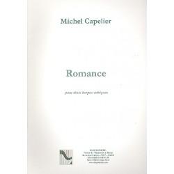 Capelier, Michel: Romance pour 2 harpes celtiques 2 partitions