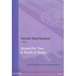 Oberlechner, Harald: Stomp for two : A touch of Blues für 2 Diskantzithern