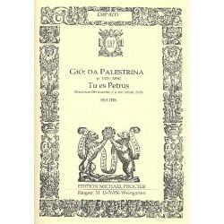 Palestrina, Giovanni Pierluigi: Tu es Petrus : for SSATBB