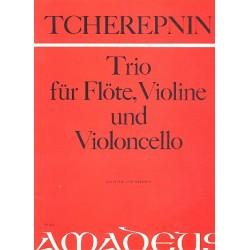 Tcherepnin, Alexander: Kindertrio für Flöte, Violine und Violoncello Partitur und Stimmen