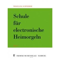 Schneider, Wolfgang: Schule für E-Orgel Band 2