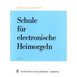 Schneider, Wolfgang: Schule für E-Orgel Band 3