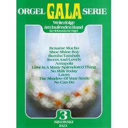 ORGEL GALA SERIE BAND 3