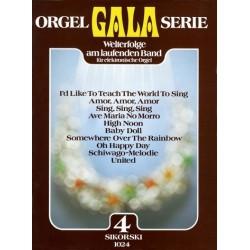 Orgel Gala Serie Band 4