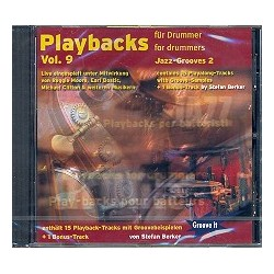 Berker, Stefan: Playbacks for Drummer vol.9 : CD Jazz-Grooves Band 2