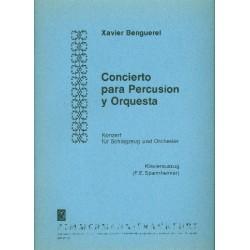 Benguerel, Xavier: Konzert für Schlagzeug und Orchester : für Schlagzeug und Klavier