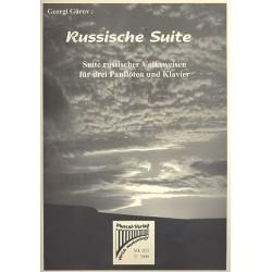 Gürov, Georgi: Russische Suite : für 3 Panflöten und Klavier Stimme