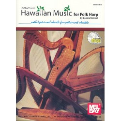 Mitchell, Bonnie: Hawaiian Music (+CD) : for folk harp
