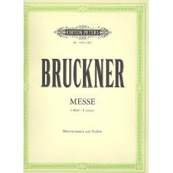 Bruckner, Anton: Messe f-moll : f├╝r Soli, Chor und Orchester Harmonie