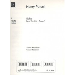Purcell, Henry: Suite The fairy Queen : f├╝r Blockfl├Âtenquartett (und Cembalo) Blockfl├Âte 3