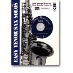 MUSIC MINUS ONE TENOR SAX : EASY TENOR SAX SOLOS VOL. 1 NOTEN UND CD