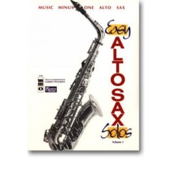 Music minus one alto sax : easy alto sax solos vol. 1 Noten und CD