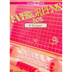 Evergreens (+CD) : for trumpet (Grade 3)