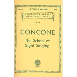 Concone, Giuseppe (Joseph): The School of Sight-Singing