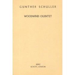 Schuller, Günther: Woodwind Quintet study score