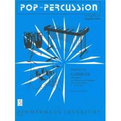Fink, Siegfried: Merengue : für Vibraphon und Marimba, Perc. ad lib. (2-10 Spieler) Partitur und Stimmen