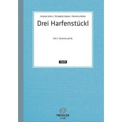 3 Harfenstückl : für 1-2 Harfen