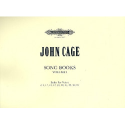 Cage, John: Selections from Song Books vol.1 : for voice