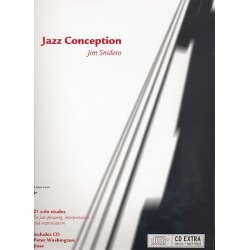 Snidero, Jim: Jazz Conception for Bass : 21 solo etudes for jazz phrasing, inter- pretation and improvisation