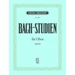 Bach, Johann Sebastian: Bach-Studien Band 2 : für Oboe