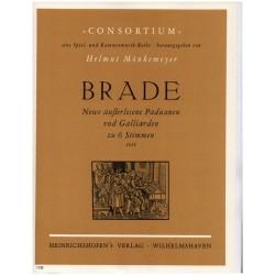 Brade, William: Neue ausserlesene Paduanen und Galliarden : Partitur und Stimmen