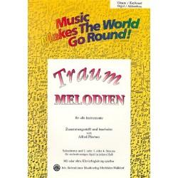 Traummelodien : für flexibles Ensemble Gitarre/Keyboard/Orgel/Akkordeon