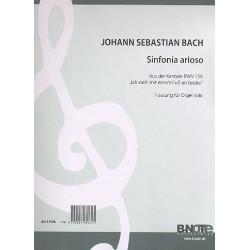 Bach, Johann Sebastian: Sinfonia Arioso BWV156 : für Orgel