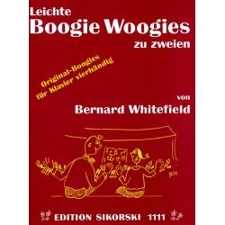 Whitefield, Bernard: Leichte Boogie Woogies : für Klavier zu 4 Händen