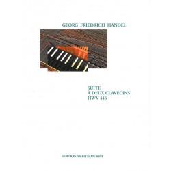 Händel, Georg Friedrich: Suite c-Moll HWV446 : für 2 Cembali