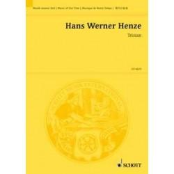 Henze, Hans Werner: TRISTAN.PRELUDES FUER KLAVIER,TONBAENDER UND ORCH. STUDIENPARTITUR(20.JH)