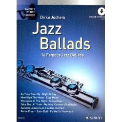 Jazz Ballads (+Online-Audio) : für Flöte 16 Famous Jazz Ballads