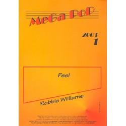Feel : Einzelausgabe für Es-Instrument mit Klavierbegleitung Robbie Williams