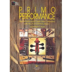 Primo Performance vol.1 : Elementary-level ensembles viola score