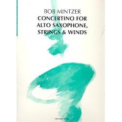 Mintzer, Bob: Concertino for alto sax, strings and winds for alto sax and piano