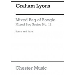 Lyons, Graham: MIXED BAG OF BOOGIE FOR WOODWINDS (MIXED BAG OF PLAYERS SCORE+9PARTS FL, CLAR, OB, BASSOON