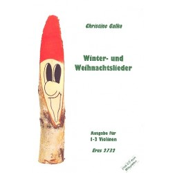 Winter- und Weihnachtslieder : für 1-3 Violinen mit Playback-CD (CD enthält Klavierbegleitung)