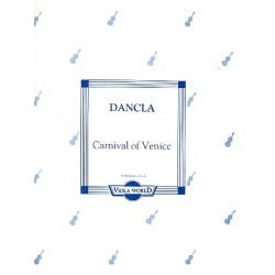 Dancla, Jean Baptiste Charles: Carnival of Venice : f├╝r Viola und Klavier