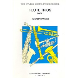 Hanmer, Ronald: Flute Trios vol.1 score and parts