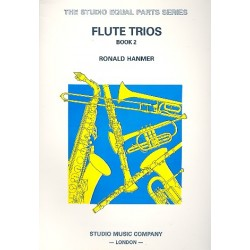 Hanmer, Ronald: Flute Trios vol.2 score and parts