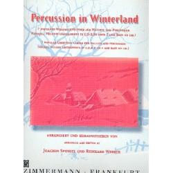 Percussion in winterland 7 Weihnachtslieder für Mallets und Percussion Partitur und Stimmen