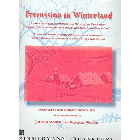 Populäre Weihnachtslieder.Percussion In Winterland 7 Weihnachtslieder Für Mallets Und Percussion Partitur Und Stimmen Dc Musicshop