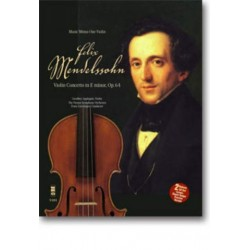Mendelssohn-Bartholdy, Felix: MUSIC MINUS ONE VIOLIN : CONCERTO E MINOR OP.64 NOTEN UND CD APPLEGATE, GEOFFREY, VIOLIN