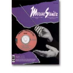 Mozart, Wolfgang Amadeus: 2 oboe quartets (mozart) and op.8,3 (stamitz) noten und cd
