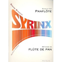 Stanciu, Simion: Syrinx : Schule für Panflöte